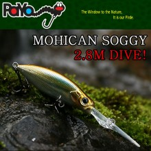 MOHICAN SOGGY deep dive minnow